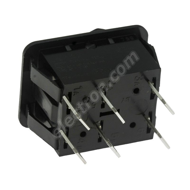 Rocker Switch Arcolectric C1560ABAAA