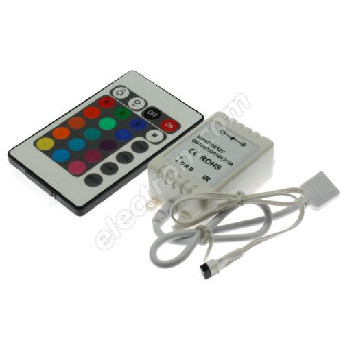 RGB LED Strip Controller 101