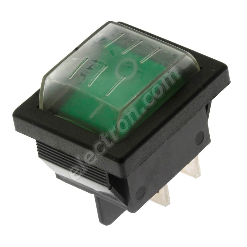 Rocker Switch Jietong IRS-201-1C3D-G/B+ WPC-08