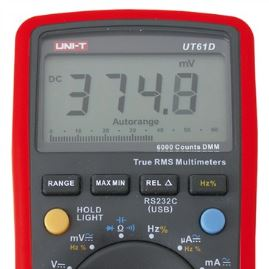 Digital multimeter UNI-T UT61D