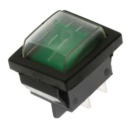 Rocker Switch Jietong IRS-201-1C3-G/B +WPC-08