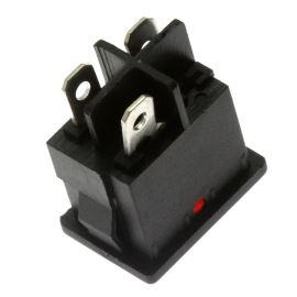 Rocker Switch Jietong MIRS-101-C3-D/R/B (12VDC)