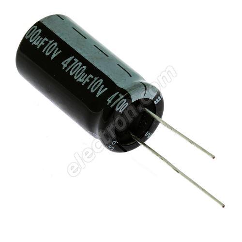 Electrolytic Radial E 4700uF/10V 13x26 RM5 85°C Jamicon SKR472M1AJ26M