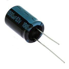 Electrolytic Radial E 1000uF/63V 16x25 RM7.5 105°C Jamicon TKR102M1JK25M