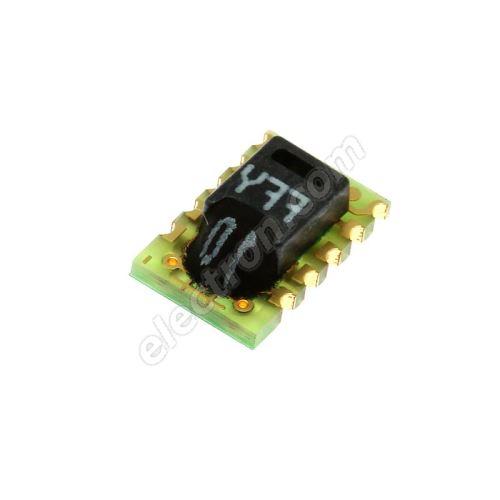 Temperature and humidity sensor, range 0..100% RH, -40..+123°C SMD