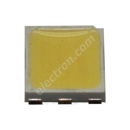 LED SMD PLCC6 0,5W Warm White Color 10000mcd/120° 6 chips Hebei PLCC6-0.5W-W3