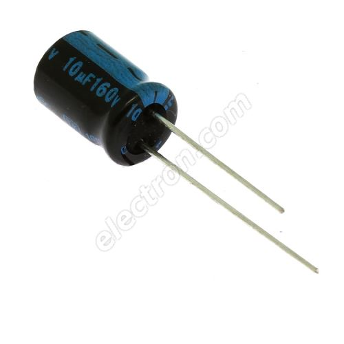 Electrolytic Radial E 10uF/160V 8x11.5 RM3.5 105°C Jamicon TKR100M2CFBBM