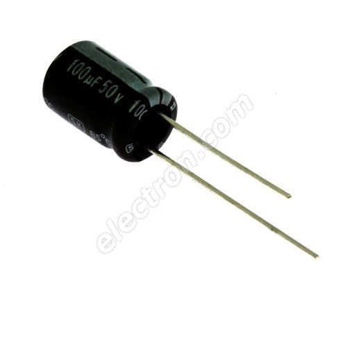 Electrolytic Radial E 100uF/50V 8x11 RM3.5 85°C Jamicon SKR101M1HF11M