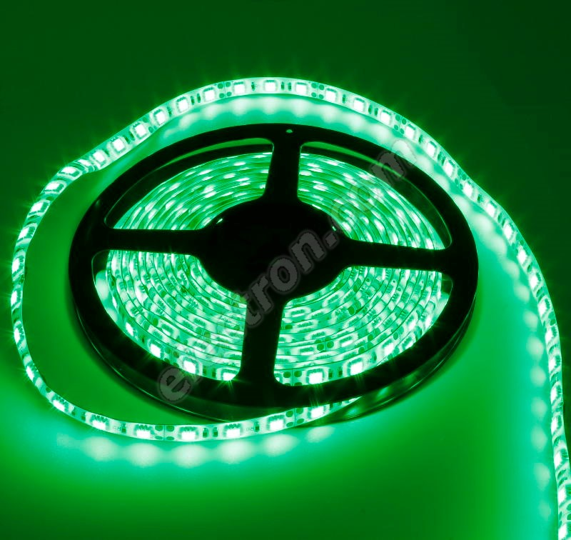 Waterproof LED Strip 5050 Green - STRF 5050-60-G-IP65 - 1 meter length