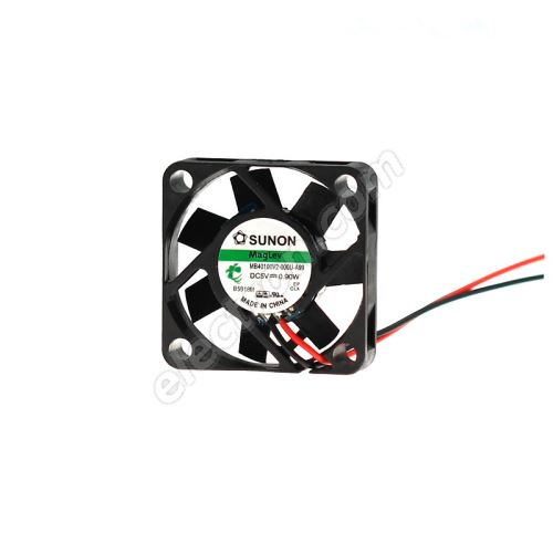 DC Fan 40x40x10mm 5V DC/180mA 27dB SUNON MB40100V2-000U-A99