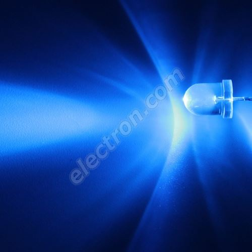 LED 8mm Blue Color 12000mcd/20° Water Clear Lens Hebei 825LB7C