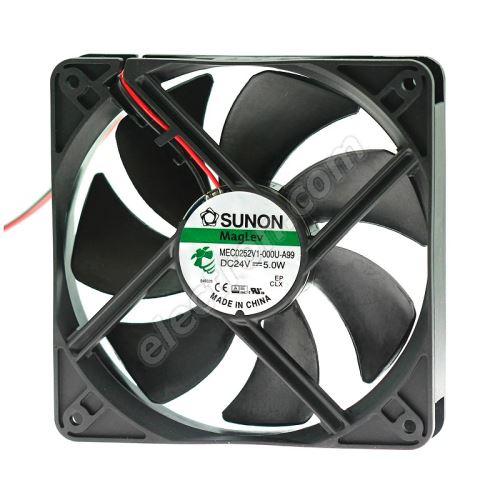 DC Fan 120x120x25mm 24V DC/207mA 44.5dB SUNON MEC0252V1-000U-A99