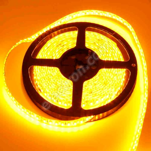 Waterproof LED Strip 3528 Yellow - STRF 3528-120-Y-IP65 - 1 meter length