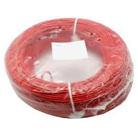 PVC Insulated Stranded Wire H05V-K 1x0.75mm Red