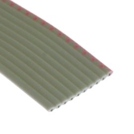 Flat ribbon cable AWG28 10 pin Grey Color