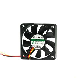 DC Fan 60x60x10mm 12V DC/120mA 28.5dB SUNON MB60101V1-000U-G99