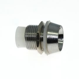 LED Holder  10mm Brass - 3 Pcs Hebei LC-10B