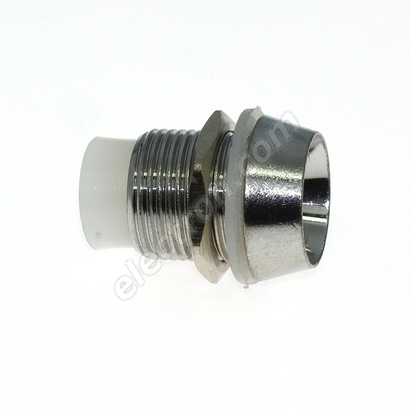 LED Holder  10mm Brass - 3 Pcs Hebei LC-10B