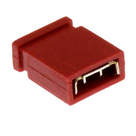 Red JUMPER closed RM2.54mm Xinya 116-A-G 2