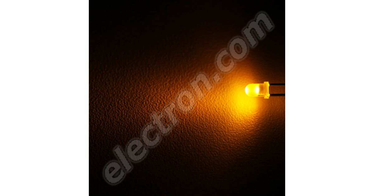 X20     3mm   YELLOW   DIFFUSED     LUY2040 LEDs