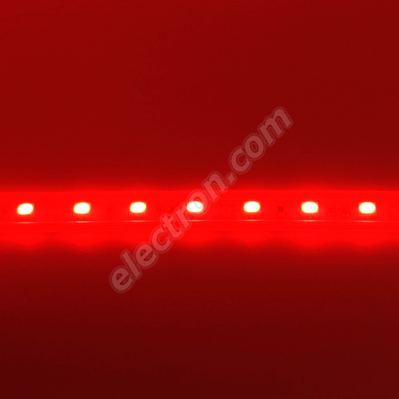 Waterproof LED Strip 5050 Red - STRF 5050-60-R-IP66