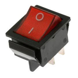 Rocker Switch Jietong IRS-201-1C3D-R/B