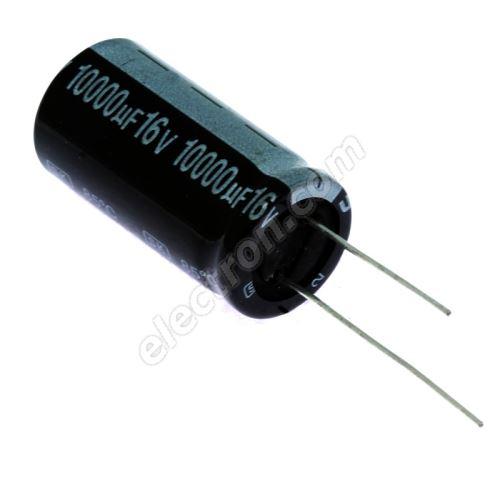 Electrolytic Radial E 10000uF/16V 18x35 RM7.5 85°C Jamicon SKR103M1CL35M