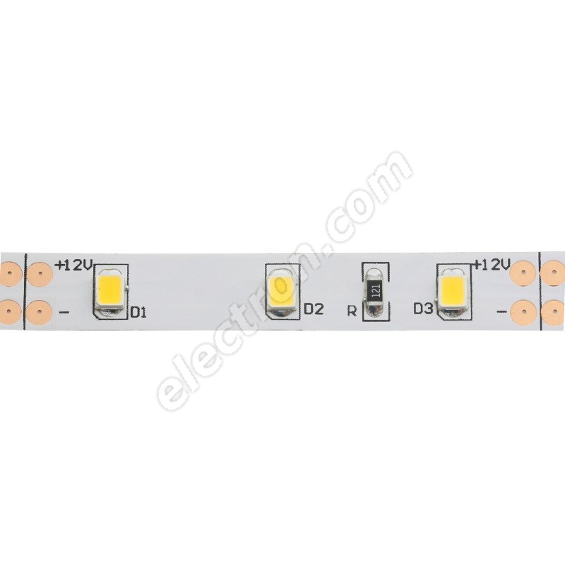 Non-Waterproof LED Strip 2835 Cool White - STRF 2835-60-CW - 1 meter length