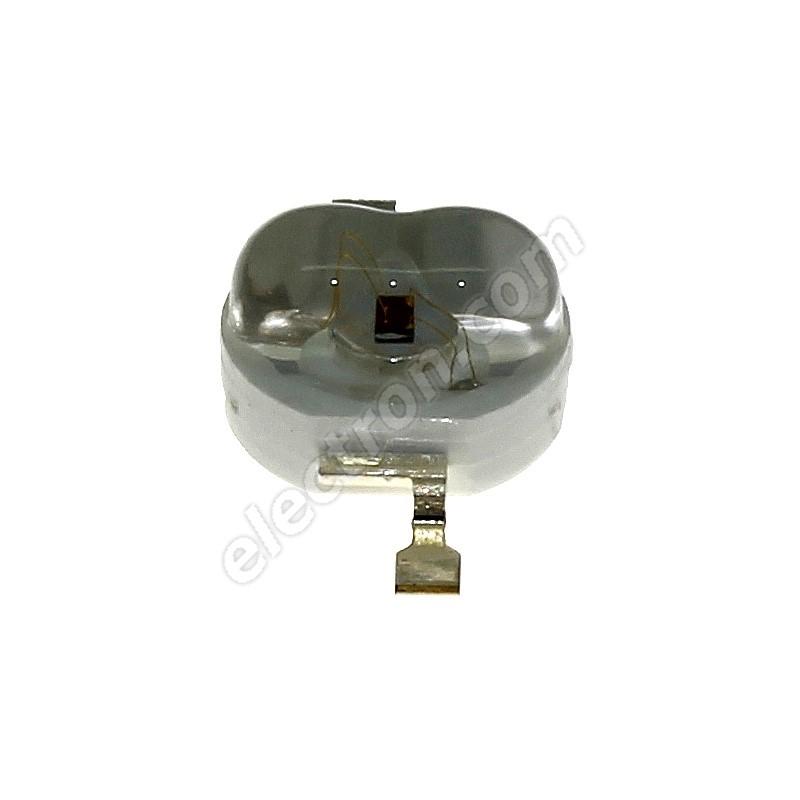 LED 1W Oval Lens Green Color 70lm/(160/100°) Hebei E12LG2C-O