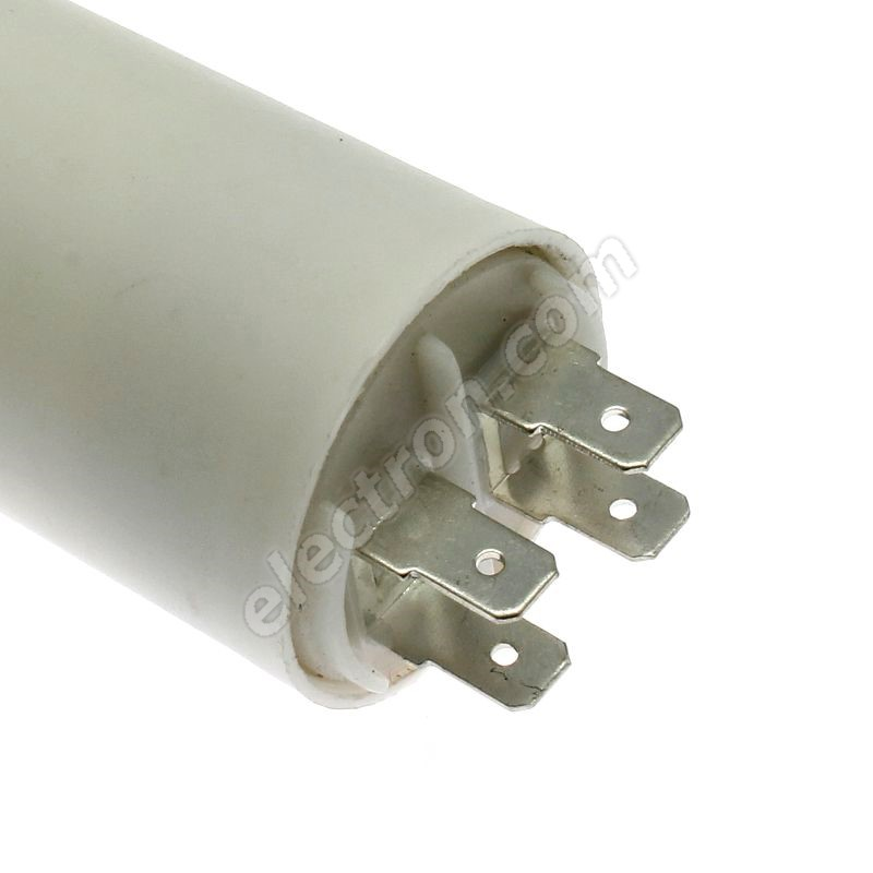Motor Start Capacitor 4.5uF/450V ±10% Faston 6.3mm SR Passives CBB60E-4.5/450
