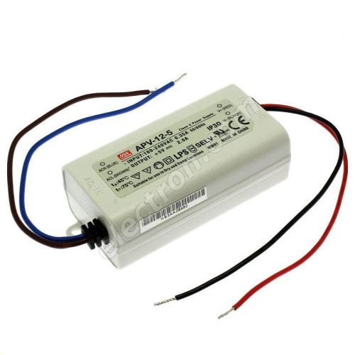 5V DC Power Supply Mean Well APV-12-5