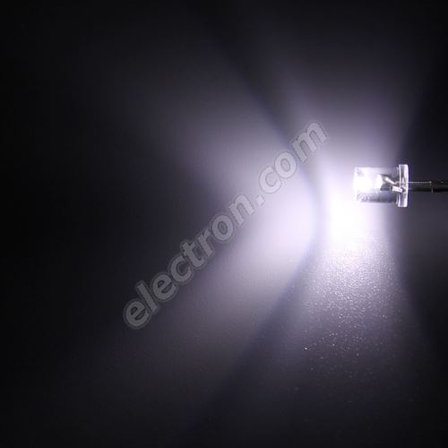 LED 5mm Cool White Color 300mcd/150° Water Clear Lens Hebei 551PWC