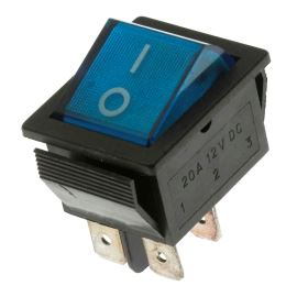 Rocker Switch Jietong IRS-201-1A3D-BL/B