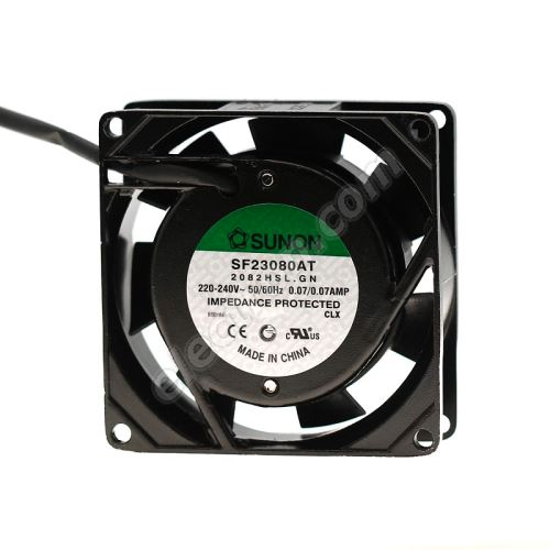 AC Fan 80x80x25mm 230V AC/70mA 29dB SUNON SF23080AT-2082HSL.GN