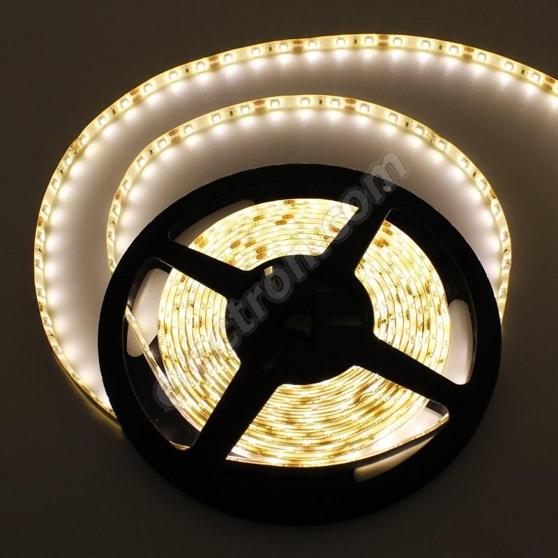 Waterproof LED Strip 3528 WarmWhite - STRF 3528-60-WW-IP65 - 1 meter length