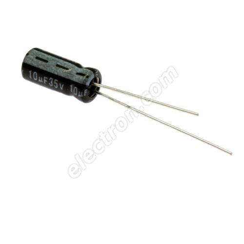 Electrolytic Radial E 10uF/35V 5x11 RM2 85°C Jamicon SKR100M1VD11M