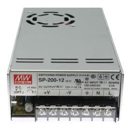12V DC Switching Power Supply Mean Well SP-200-12