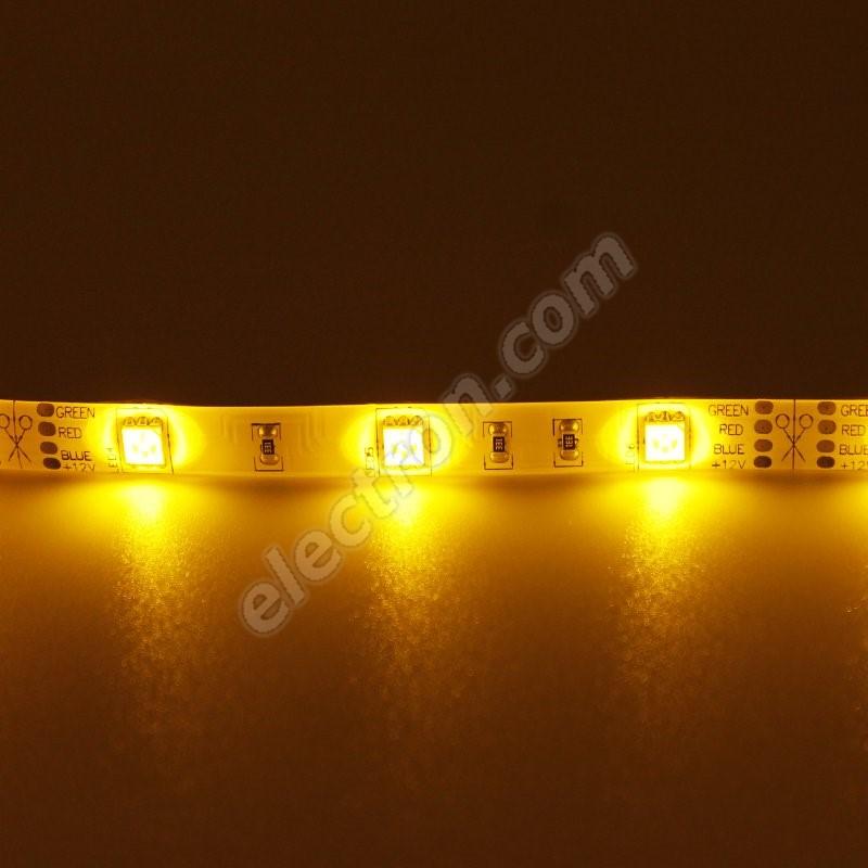 Waterproof LED Strip 5050 Yellow - STRF 5050-30-Y-IP65 - 1 meter length