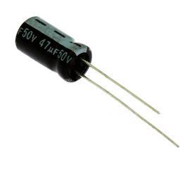 Electrolytic Radial E 47uF/50V 6.3x11 RM2.5 85°C Jamicon SKR470M1HE11M