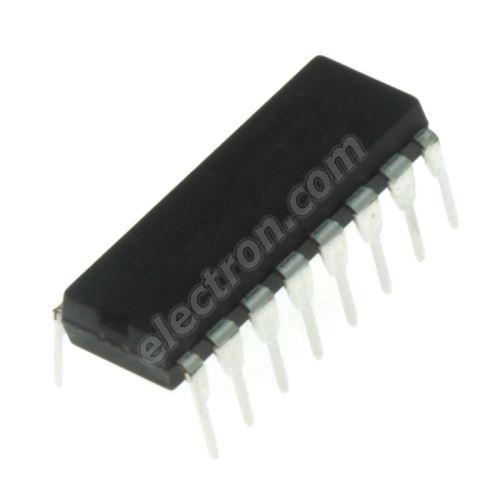 8Bit Shift Reg/Outp Latch DIP16 Texas Instruments SN74HC595N