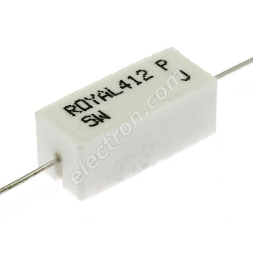 Power Resistor Royal Ohm PRW05WJP123B00