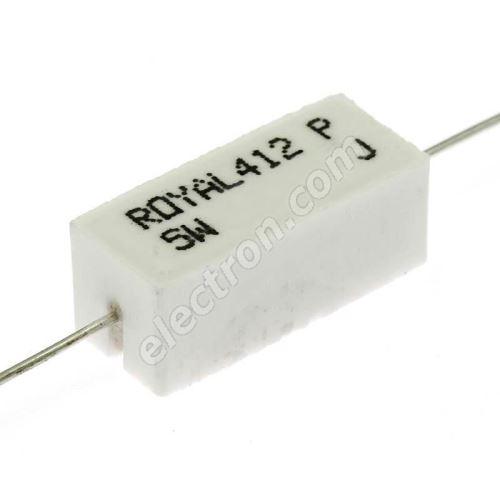 Power Resistor Royal Ohm PRW05WJW100B00