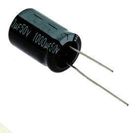 Electrolytic Radial E 1000uF/50V 16x25 RM7.5 85°C Jamicon SKR102M1HK25M