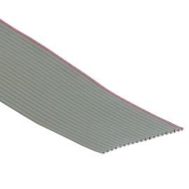 Flat ribbon cable AWG28 20 pin Grey Color