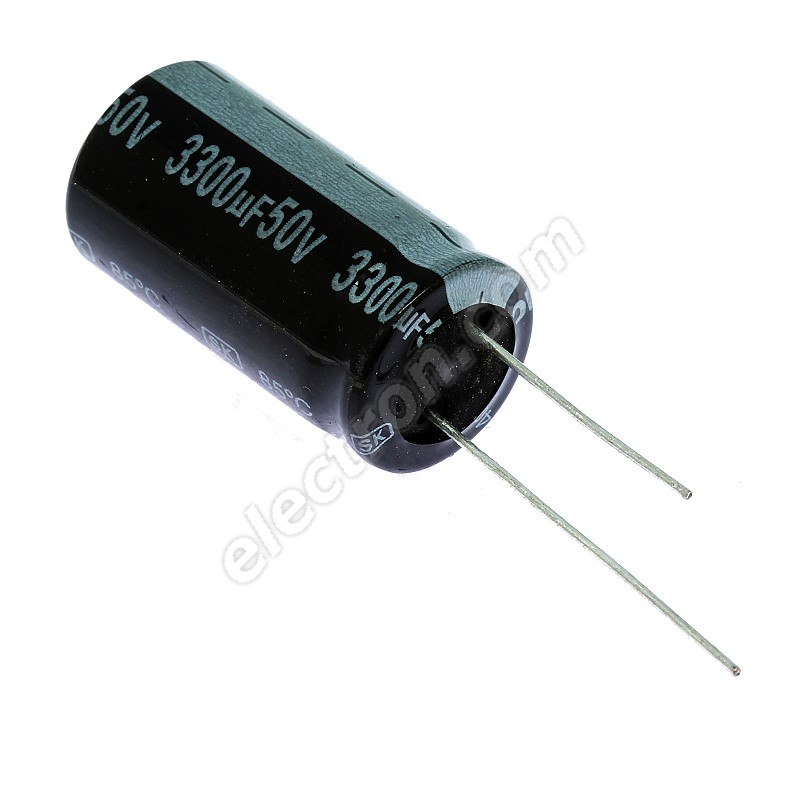 SAMSUNG  ELECTROLYTIC CAPACITOR  50v  3300uf   USL SERIES   QTY =  2
