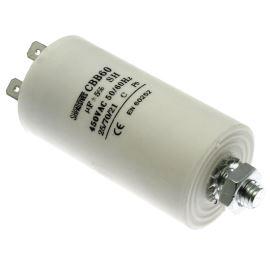 Motor Start Capacitor 40uF/450V ±10% Faston 6.3mm SR Passives CBB60E-40/450