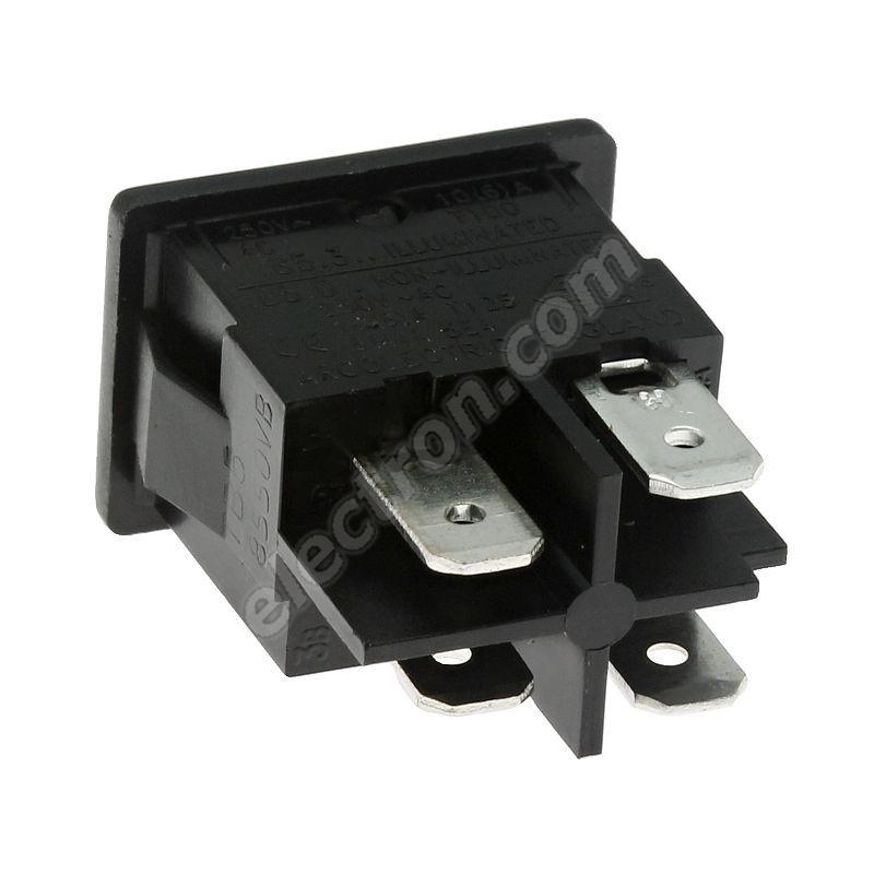 Rocker Switch Arcolectric H8550VBACA