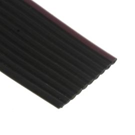 Flat ribbon cable AWG28 10 pin Black Color