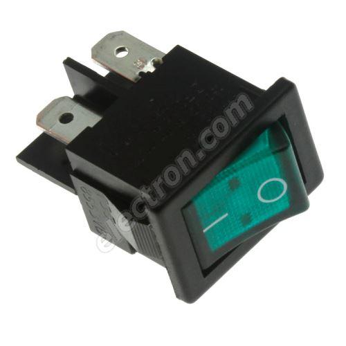 Rocker Switch Bulgin H8553VBNAE