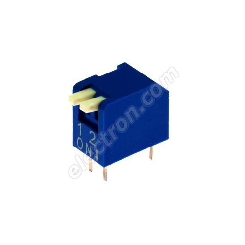 DIP switch Kaifeng KF1002-02PG-BLUE